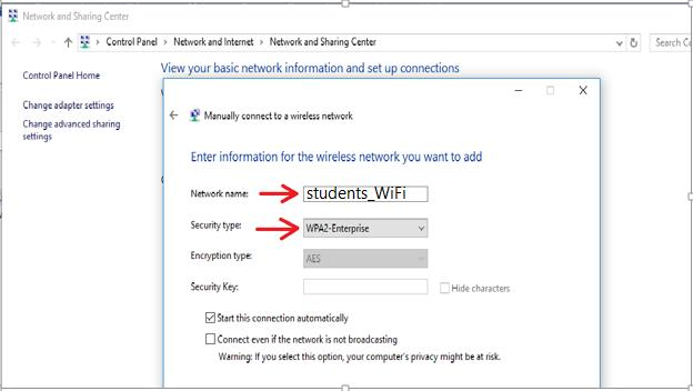 Windows 10 - Manually-connect-to-a-wireless-network